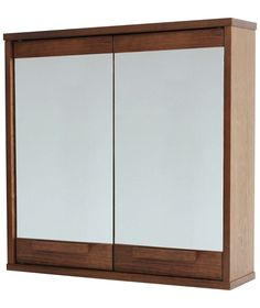Buy Heart of House Cranbrook Mirrored Wall Cabinet at Argos.co.uk - Your Online Shop for Bathroom cabinets, Bathroom cabinets.