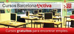 Cursos gratuitos en Barcelona para quienes buscan empleo.  #trabajo #empleo #feina #buscarempleo #autoocupació #emprender #emprendimiento #autoempleo #entrevista #cv #currículo #interview #job #jobsearch