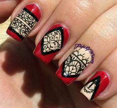 . Chalkboard Nails, Pretty Nail Art, Art Nails, Creative Nails, Peek A Boos, Nails Inspiration, Fashion Art, Nailart, My Design