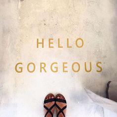 ✨hello gorgeous ✨ regram @ashallums #ihavethisthingwithfloors