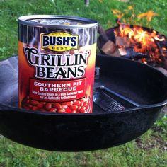 Dinner last night - 1/2 cup of Bush's Grillin' beans + Vegan Boca burger on a roll with sliced tomatoe, onion & yellow mustard.