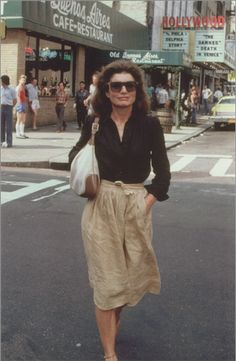 Leaving a Cinema, 1981.
