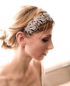 20 1920's Flapper Inspired Bridal Headpieces and Jewelry