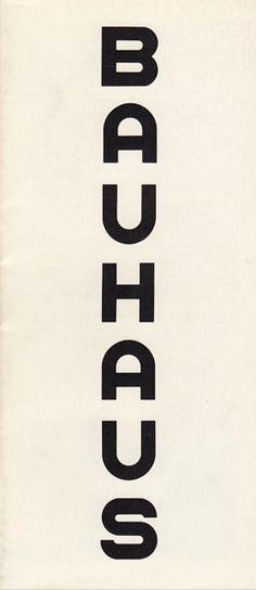 black Bauhaus