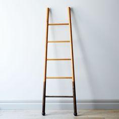 Lostine Solid Oak Oxidized Decor Ladder