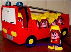 traktaties: brandweermannetjes zelf maken