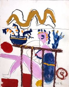 roger hilton works on paper - Google Search