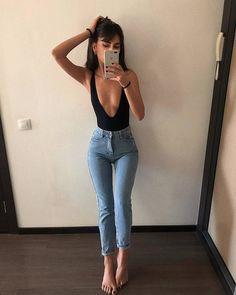 Denim Fashion, Girl Fashion, Fashion Outfits, Womens Fashion, Cool Outfits, Summer Outfits, Casual Outfits, Best Cheap Clothing Websites, Cute Emo Girls