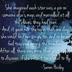 Where would you go? Poems About Stars, Star Quotes, Hopeless Romantic, Quote Of The Day, Quotes To Live By, Poetry, Inspirational, Writing, Feelings
