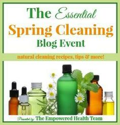 Spring Cleaning tips, Recipes and more!