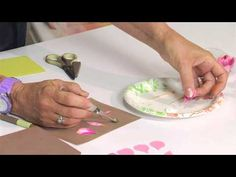 Designing in Susan's Garden with Sizzix Thinlits Alstroemeria Flower Set - YouTube
