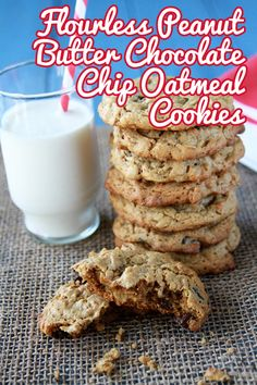Flourless and gluten free cookies, but you sure wouldn't know it!  They are so good!