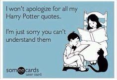 I do not apologize