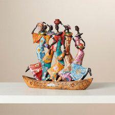 Turien Water Carriers of Ghana Figurine