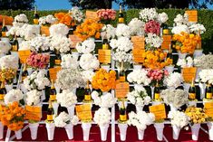 At the Veuve Clicquot Polo Classic, a 3-D arrivals area evoked a vintage flower stand with bottles potted as...