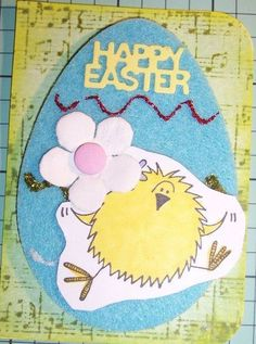 Magda's ATC for the March 2013 Crafty Girls Challenge - Easter