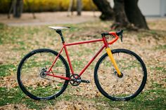 *GEEKHOUSE BIKES* Mudville SSCX Belt Drive complete bike   by Blue Lug