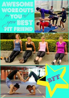 Thinking about trying a new group exercise class with your BFF this summer? Get fit together with these workouts!