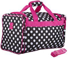 c0c6aa620941 Amazon.com  Dance Cheer Gym Pageant Travel Bag (Chevron - Teal)