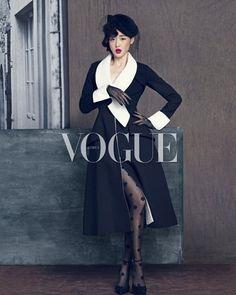 Jeon Ji-Hyun for Vogue Korea September 2013