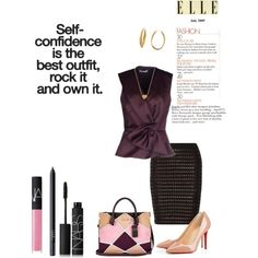 Business attire by campanellinoo on Polyvore featuring polyvore, fashion, style, Balenciaga, Alexander Wang, Christian Louboutin, River Island, Diane Von Furstenberg, Minnie Grace and NARS Cosmetics