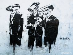 Global Surveillance Problem: NSA Has Its Ways to Intrude Everyone's Privacy · Featured, Privacy · Safetyholic. Bansky, Art And Technology, Graffiti, Street Art, Darth Vader, Fictional Characters, Web Archive, Cameras, Flow