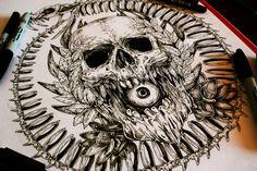 Uroboros- Commission tattoo design by TheFreaksWorld.deviantart.com on @deviantART