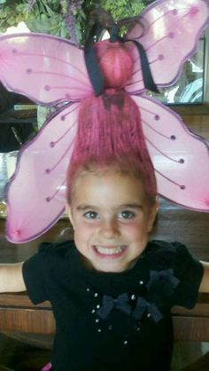 Because one day I'll need crazy hair day ideas