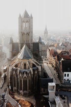 Saint Nicholas' Church (Sint-Niklaaskerk) in Ghent, Belgium / photo by Babak Haghighi
