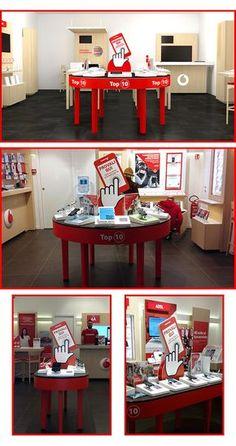 Vodafone Store - POP materials on Behance Graphic Design Print, Design Art, Ideas Geniales, Online Portfolio, Adobe, Behance, Display, Behavior, Floor Space