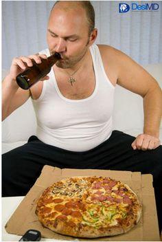 Unhealthy lifestyle: Higher health risk