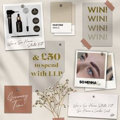 Competition Time, Pantone, Henna, Lashes, Gallery Wall, London, Frame, Instagram, Decor