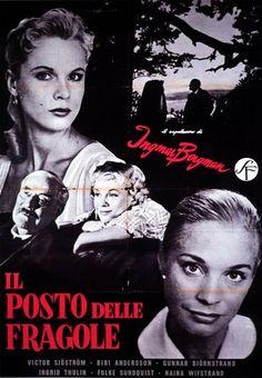 Il posto delle fragole  Ingmar Bergman  1957  giudizio:  ★★★★  grafica copertina:  ☆