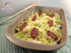 #Verza al forno con #salsiccia http://blog.giallozafferano.it/lericettedibea/verza-al-forno-con-salsiccia/ #lericettedibea #gialloblogs