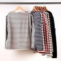 A closet full of stripes. #splendideveryday