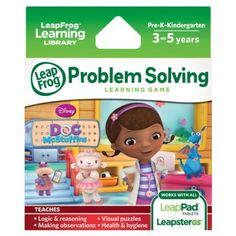 LeapFrog Disney Doc McStuffins Learning Game, 2016 Amazon Top Rated Children's Software  #Software