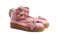 Bad Gals, Rihanna's Fenty PUMA Bow Creeper Sandals Drop Next Week