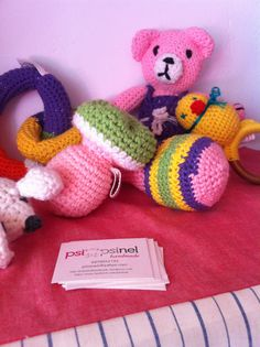 Handmade baby toys at babyfeat center