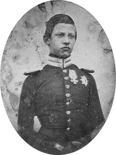 Kaiser Friedrich III of Prussia as a child, the father of Kaiser Wilhelm II