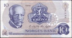 norway currency | Norway Paper Money, 1962-87 Series V Issues