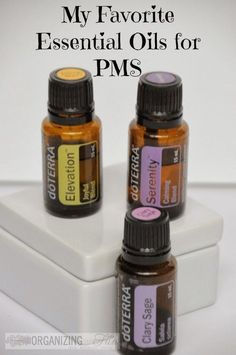 If you are a wreck every month from PMS - I have way to keep things calm {maybe even help with organizing} in your home for Mom! Plus, a GIVEAWAY!! My favorite essential oils for PMS :: OrganizingMadeFun...