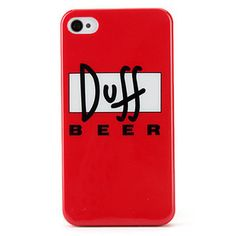 Case Duff Beer para iPhone 4/4S