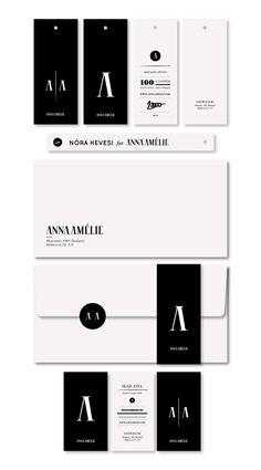 ANNAAMÉLIE / 2011 by kissmiklos , via Behance