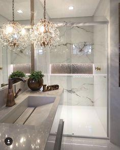 Modern Home Decor Bathroom Bathroom Interior Design, Home Decor Bedroom, Interior Design Living Room, Dream Bathrooms, Luxury Home Decor, Bathroom Inspiration, Home And Living, House Design, Sweet