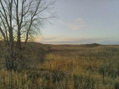 Beautiful Nebraska landscape near Gothenburg off of Highway 30