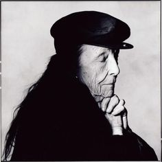 Louise Bourgeois, New York, 1992 in portrait by Irving Penn