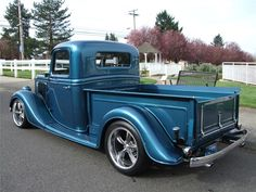 1936 FORD CUSTOM PICKUP - Barrett-Jackson Auction Company
