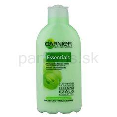Garnier Essentials, odličovacie mlieko pre normálnu až zmiešanú pleť | parfums.sk Natural Skin, Shampoo, Natural Leather