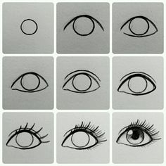 This is a great eye drawing that everyone must try!