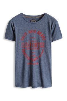 Esprit : T-shirt imprimé en jersey de coton mélangé à acheter sur la Boutique en ligne